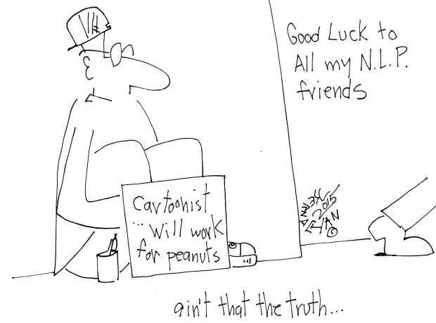 CNL Cartoonist Rob Kernachan's farewell cartoon.
